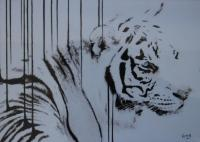 Encre tigree pastel