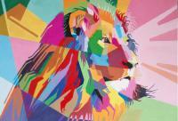 Lion huile